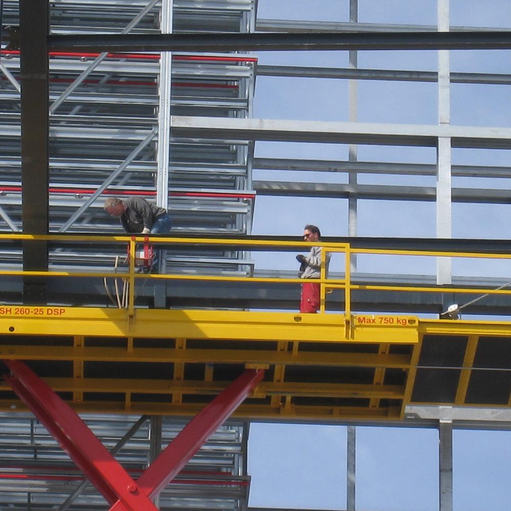 Industriehalle, Stahlbau Zobel, Rot am See